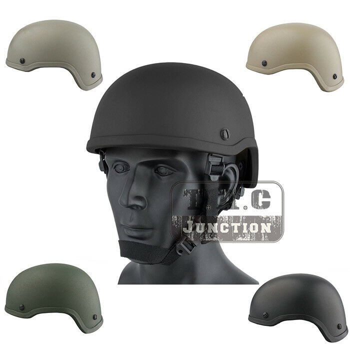 Emerson Tactical ACH MICH 2001 TC-2001 Combat Helmet ABS for  Airsoft Paintball  for cheap