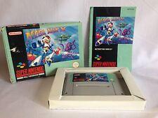 MEGA MAN x MEGAMAN Super Nintendo SNES GIOCO COMPLETO PAL ~ foto