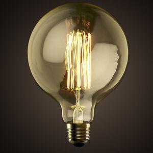 G125-220V-E27-Edison-Decorative-Filament-Light-Bulb-Antique-Globe-Squirrel-Cage