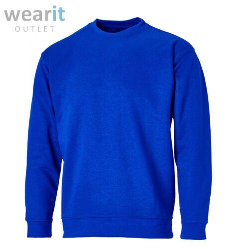Richmond Mens Plain Crew Neck Sweatshirt Jumper Top Pullover Sweater Long Sleeve