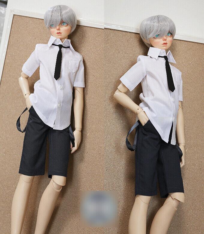 1 4 Bjd MSD Boy Puppe Schwarz Schuluniform Kleidung Kostüm Dollfie Luts