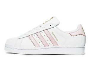 adidas superstar blanco rosa