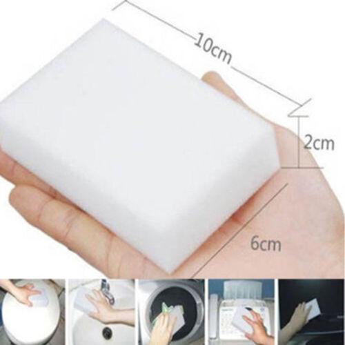 50PC Solid Magic Sponge Eraser Cleaner for Kitchen Bathroom Cleaning Nano Sponge