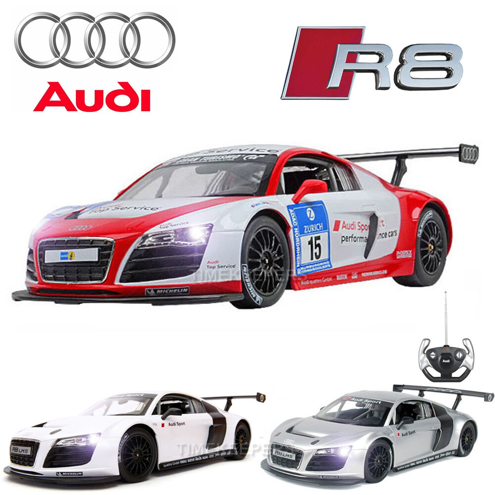 Official Licensed 1 14 Audi R8 LMS RC Radio Remote Control Car EP RTR