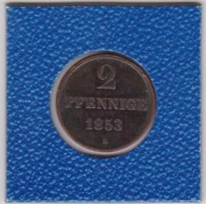 2-Pfennig-Hannover-1853-B-Georg-V