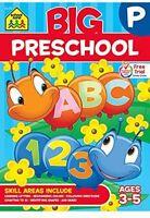 Big Preschool Workbook, Children Activity Learning Kids Study Aids Education on Sale