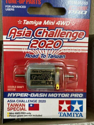 Tamiya 95553 1//32 Mini 4WD Hyper Dash Motor Pro Asia Challenge 2020 Box of 12