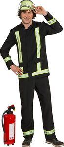 Feuerwehr Mann Uniform Herrenkostum Neu Herren Karneval Fasching