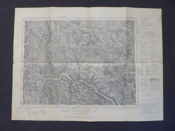 100% QualitäT Topographische Landkarte 614 Passau, Wegscheid, Röhrnbach, Donau, 1941 Attraktive Mode