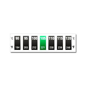 Digitemp-7-Level-Horizontal-Dual-Scale-90-C-to-120-C-Thermometer-strip-sticker