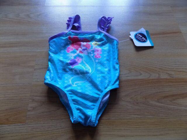 74e87f35fda97 Size 24 Months Disney The Little Mermaid Ariel Swimsuit Swim Bathing Suit  New