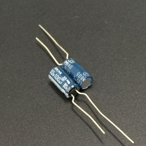 100pcs 100uF 10V Japan ELNA RE2 5x11mm 10V100uF Audio Capacitor