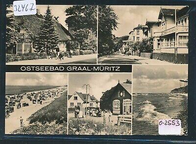 32467) Ak Mbk Ostseebad Graal - Müritz, Milch-bar Seestern, ** Gedr.1968 Neueste Technik