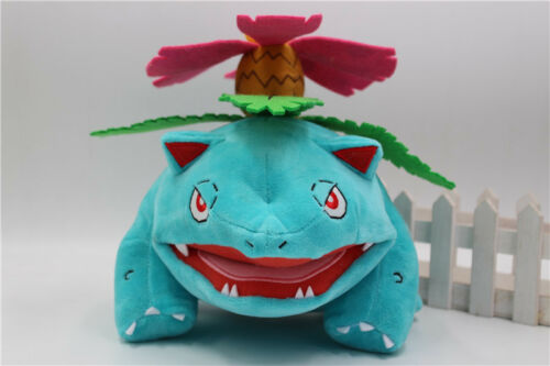2017 Authentic Pokemon Tomy Venusaur Jumbo Plush Doll Stuffed Toy Gift 11/""