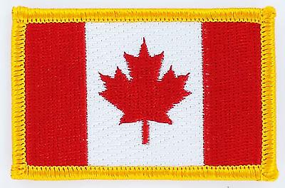 100% Wahr AufnÄher Patch Flaggen Flagge Kanada Canada Flag Fahne 7x4.5cm Mit Einem LangjäHrigen Ruf