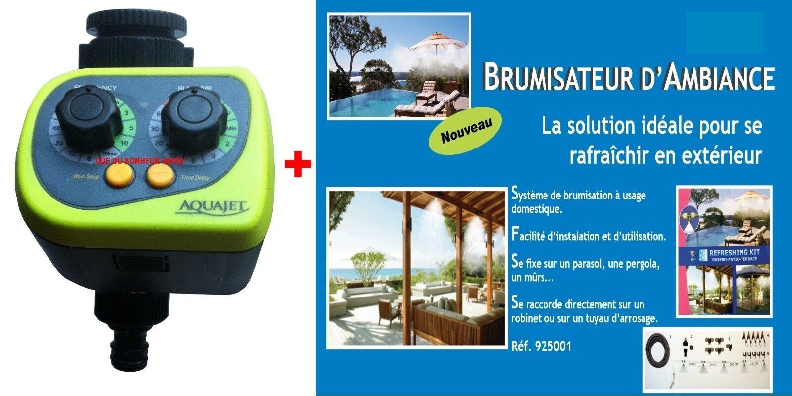 1 Programmateur + 1 Kit Brumisation - Nez Robinet -