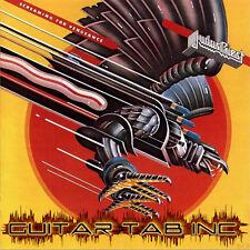 Judas Priest Digital Guitar & Bass Tab SCREAMING FOR VENGEANCE Lessons on Disc