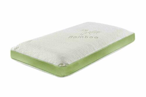 Luxury Bamboo Memory Foam Soft Cot Bed Mattress With Removeable Zipped Cover
