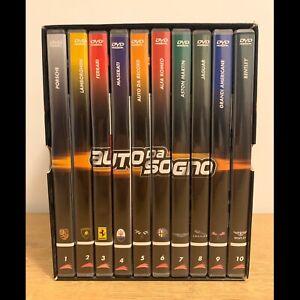 BOX COFANETTO 10 DVD AUTO DA SOGNO FERRARI PORSCHE LAMBORGHINI ASTON MARTIN ALFA