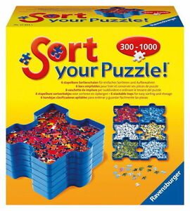 *NEW IN BOX* Ravensburger Sort Your Puzzle Trays 300 - 1000 Pieces
