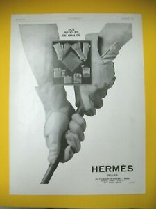 Advertising-Press-Hermes-Items-Quality-Gloves-Suede-Goatskin-Luxe-1928