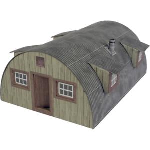 Metcalfe PO415 Nissen Hut Card Kit OO/HO Gauge