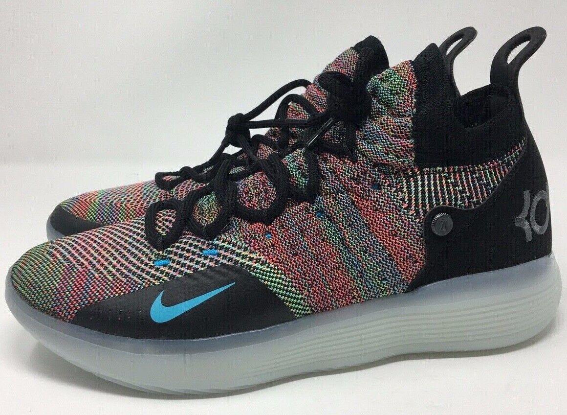 New Nike KD XI 11 Zoom Multi-color Men's Size 10 AO2604 001