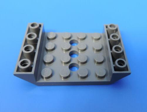 4549999-Ferrovia 4x6 Lok vagone sotto parte grigio scuro//2 pezzi LEGO ® n