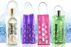 Details About Wine Bottle Cooler Gel Bag Chilled Ice