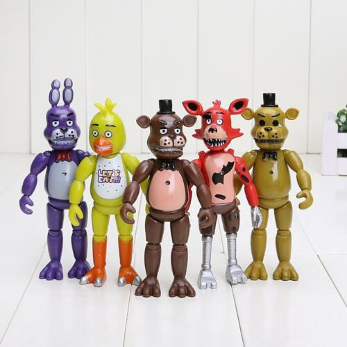 FNAF personnages Five Nights at Freddy bande dessinée Game culte Action collecter personnage 5 pcs