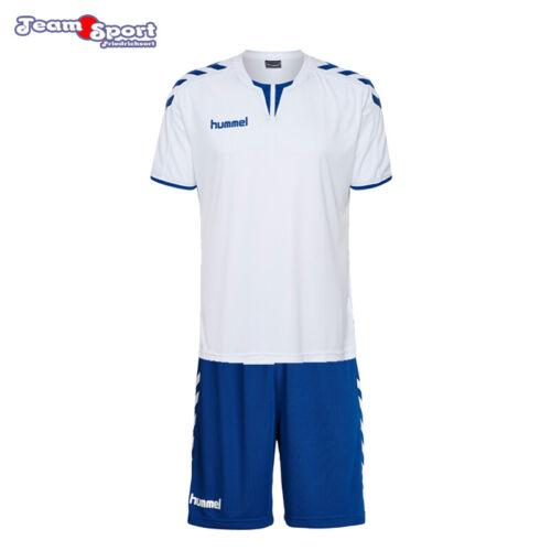 Herren 003636+011083 Fussball Handball Training Art Hummel Core Trikotset