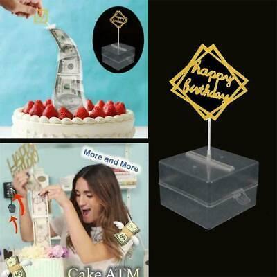 Fantastic Cake Atm Happy Birthday Cake Topper Money Box Fashion Happy Funny Birthday Cards Online Kookostrdamsfinfo