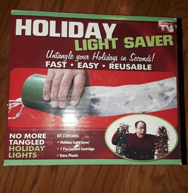 as Seen on TV Holiday Light Saver Protect & Prevent Tangle Lights System |  eBay - As Seen On TV Holiday Light Saver Protect & Prevent Tangle Lights