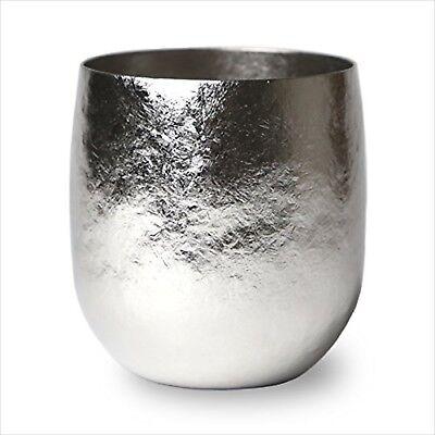 Japanese Handmade Vacuum titanium tumbler SUSgallery Wine cup 400 NEW mirror