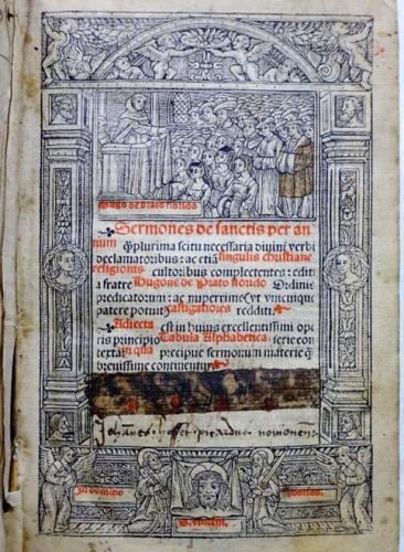 Post-Incunable-1528-PRATO-FLORIDO-SEMONS-DOMINICAIN-FLORENCE-THOMAS-D-AQUIN-Lyon