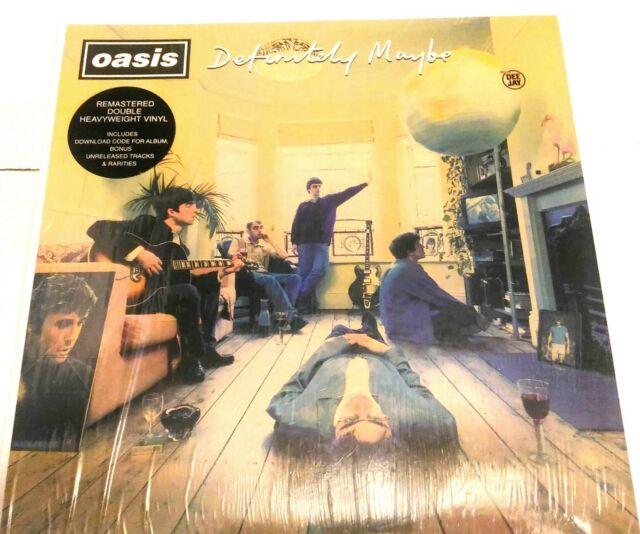 Oasis - Definitely Maybe (2 Lp)  - Vinile remastered, rarità