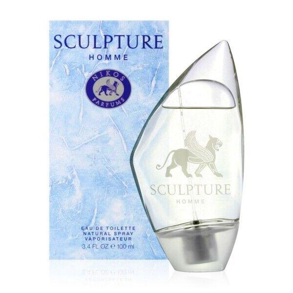 Nikos Sculpture Homme Eau De Toilette Spray 100ml Para Hombre 3414204200949 Compra Online En Ebay