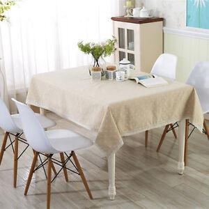 Cotton-amp-Linen-Table-Cloth-Plain-Elegant-Table-Cover-For-Home-Hotel-Restaurant