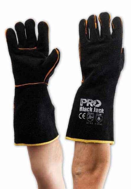Pro Choice Black Jack Welding Gloves Welder Work Glove | AUTH. DEALER (12 PACK)