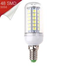 Bombilla Mazorca LED E14 Mignon 48 SMD 5050 Blanco Puro 110V - 220V - Consumo 8W