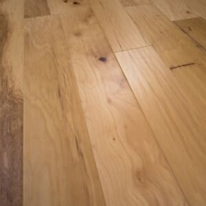 Hickory Hand Scraped Wood Floor Prefinished Engineered 7 1 2 X