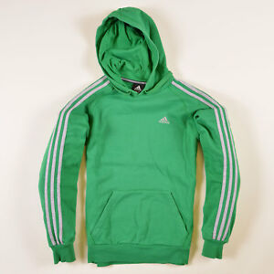 Details zu Adidas Herren Hoodie Kapuzenpullover Gr.S Grün, 37363