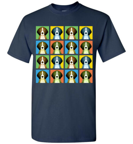 Pointer Dog Cartoon Pop-Art T-Shirt Tee Men Women Youth Tank Short Long Sleeve