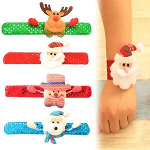 Neuf-Pere-Noel-Bracelet-Cercle-Noel-Bijouterie-Cadeau-Noel-Decoration-Pour-Fete