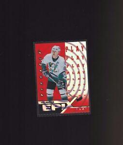 1997-Pinnacle-Epix-Orange-Play-E19-Paul-Kariya-Anaheim-Ducks