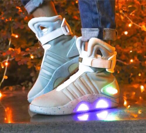 Collegio Led Sneaker Luce Futuro Indietro Di Casual Basket Al Guerriero Caldo B5qwxw0tYW