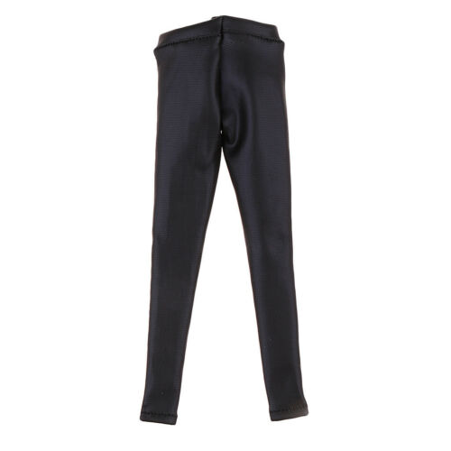 1//6 Scale Leather Female Trousers Pants for 12/'/' Action Figure Accessories#2
