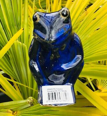Garden Ceramic Frog Ornaments On Sticks, Ceramic Frog Garden Decor
