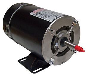1hp hot tub spa pool motor 115 volts 1 speed bn25v1 ebay for 3 hp spa pump motor