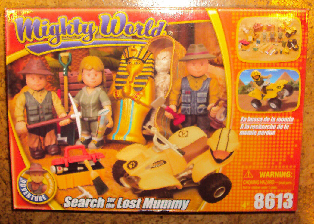 RARE Mighty Search for the Lost Mummy Set  8613 New In Box Adventure
